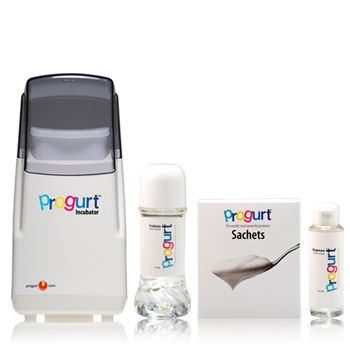 PROGURT DELUXE PACK:INCLUDES INCUBATOR, 30 SACHET PACK, PREBIOTIC AND MAGNEASE