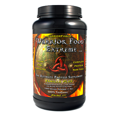 Warrior Food Vanilla Phycocyanin, Vegan Protein, 1000gm (2.2lbs)